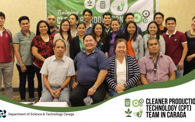 DOST Caraga trains team of experts on cleaner production tech
