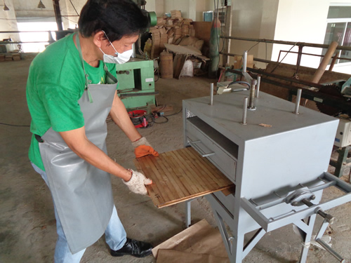 Improving the quality of engineered bamboo with MPEX