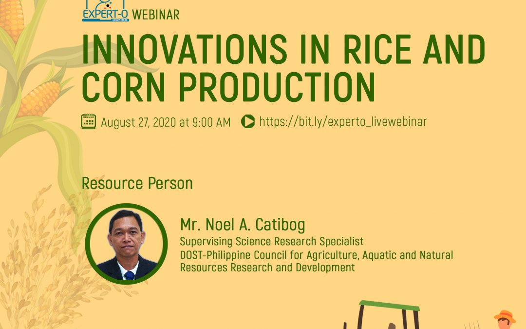 Innovations in Rice and Corn Production